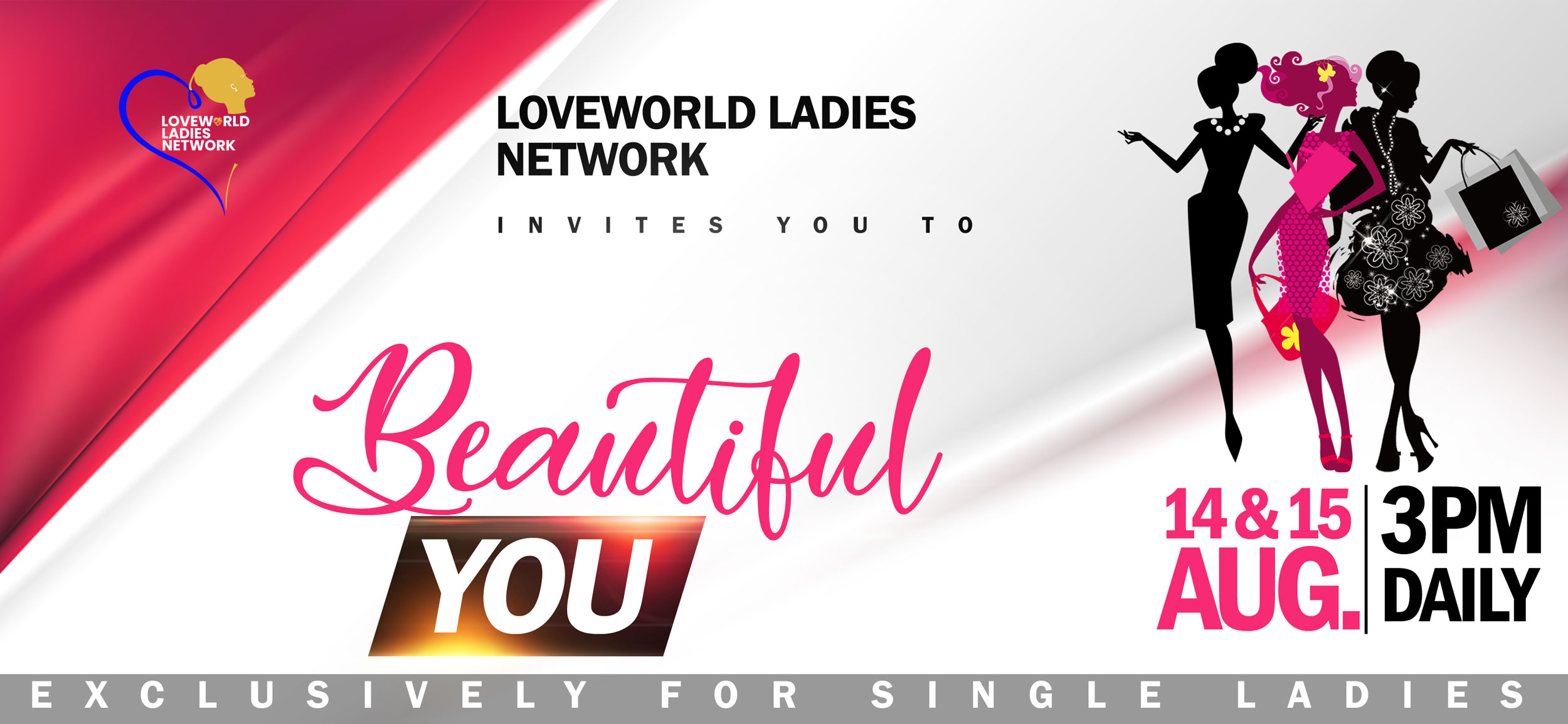 The Loveworld Ladies Network 24hrs Onine Prayers